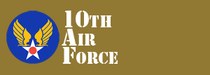 10th Air Force Website Logo